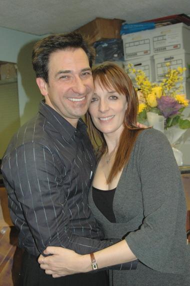 Jordan Leeds and Julia Murney