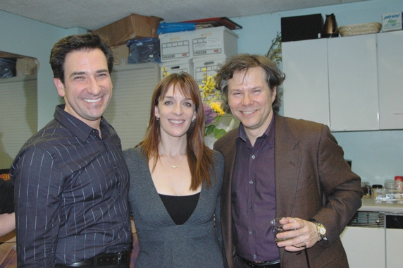 Jordan Leeds, Julia Murney and Brad Ross