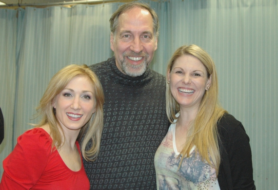 Sarah Jane Everman, Philip Wm. McKinley, and Heather Ayers at THE TIMES at The York Theatre