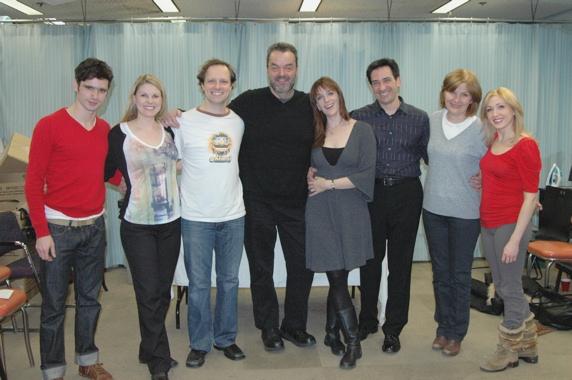 "The Cast of ""The Times""-Robb Sapp, Heather Ayers, Jim Stanek, Bill Nolte, Julia Murne Photo"