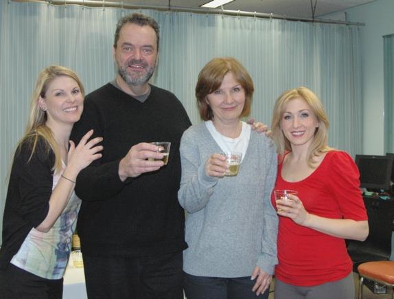Heather Ayers, Bill Nolte, Mary Gordon Murray, Sarah Jane Everman