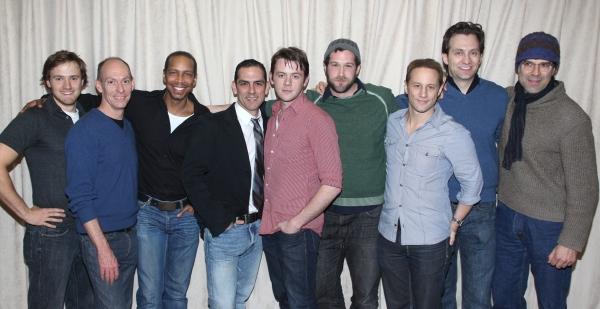 Aaron Sharff as Cowboy, John Wellmann as Emory, Kevyn Morrow as Bernard, Jonathan Ham Photo