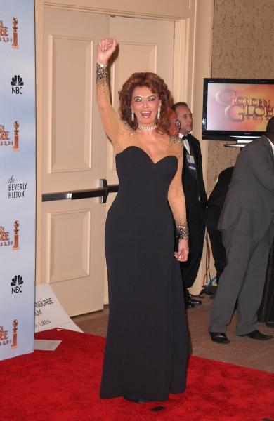Sophia Loren at Golden Globe Awards Winners and Press Room!