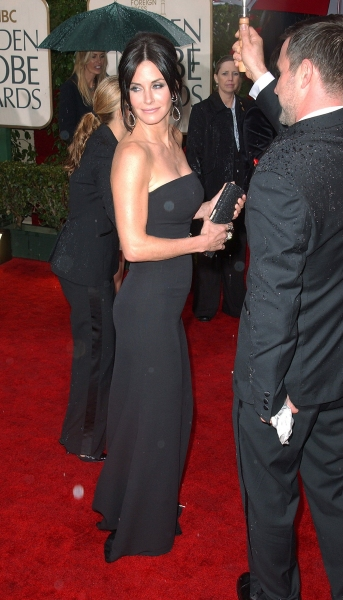 Courtney Cox  at Golden Globe Awards Arrivals Part 1