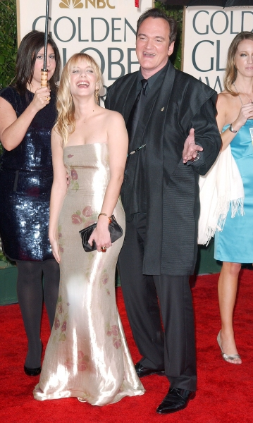 Quentin Tarantino and Melanie Laurent