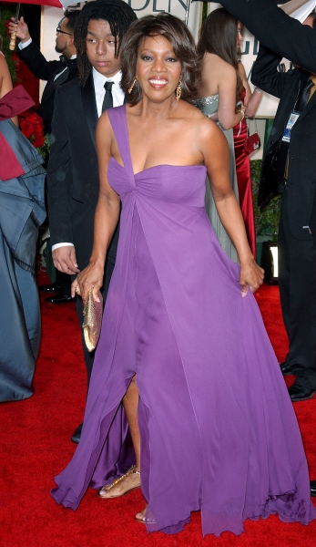 Alfre Woodard  at Golden Globe Awards Arrivals Part 1