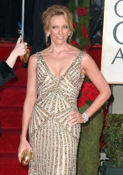 Toni Collette  at Golden Globe Awards Arrivals Part 2