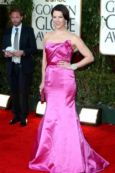 Lauren Graham at Golden Globe Awards Arrivals Part 2