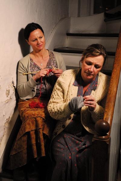 Sarah Wellington and Barbara Figgins