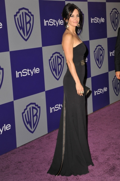 Courtney Cox  at 11th Annual Warner Brothers Instyle Golden Globes After Party