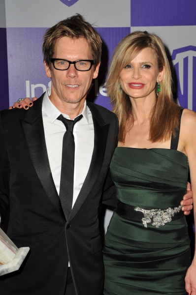 Kevin Bacon and Kyra Sedgwick  at 11th Annual Warner Brothers Instyle Golden Globes After Party