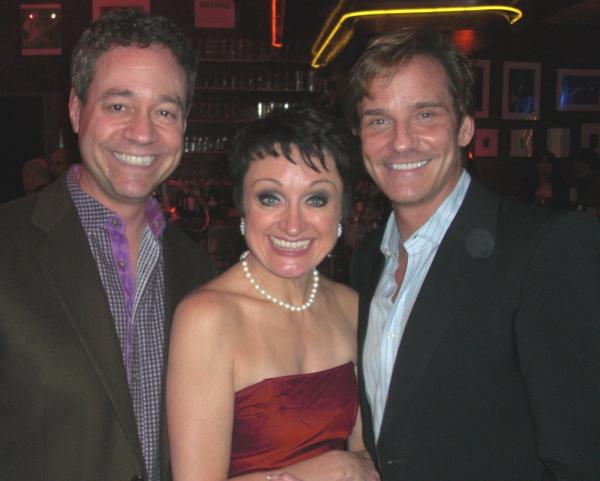 Mark Sendroff, Caroline O'Connor & Sean McDermott Photo