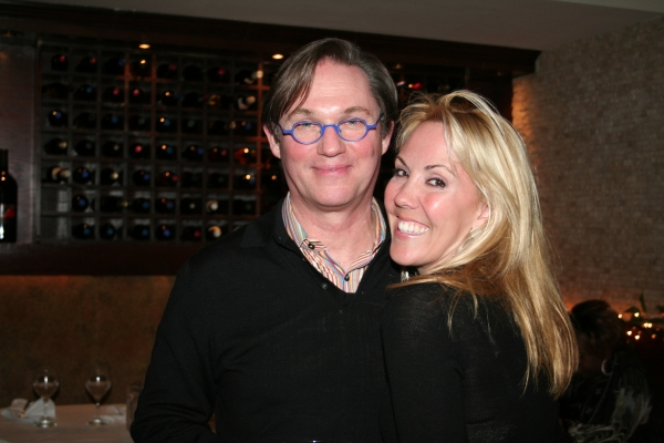 Richard Thomas and Heather Randall