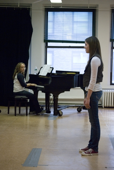 Photo Coverage: Sutton Foster at The Broadway Workshop