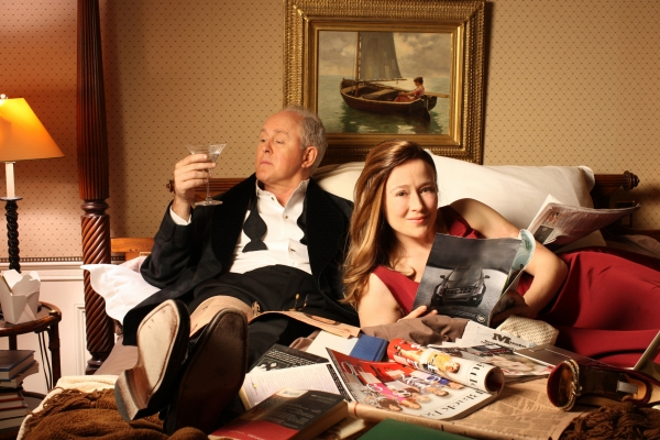 John Lithgow and Jennifer Ehle