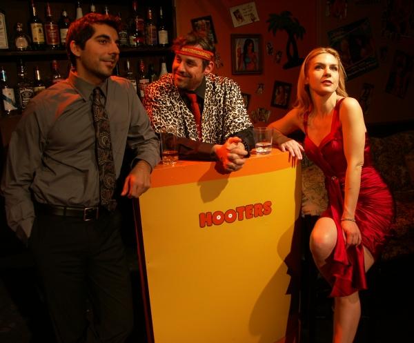 (L to R) Sunhil Malhotra, Nicholas Brendon and Rhea Seehorn