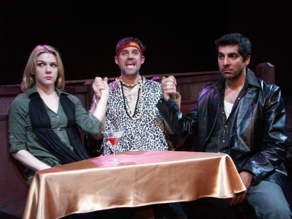 Rhea Seehorn, Nicholas Brendon and Sunhil Malhotra