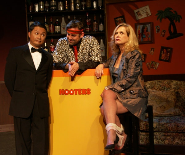 Alec Mapa, Nicholas Brendon and Catherine Hicks