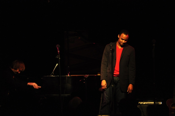 Curtis Wiley at 'Just A Piano' - A Benefit for Haiti