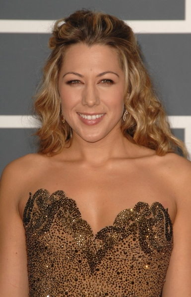 Colbie Caillat at Grammy Awards Red Carpet