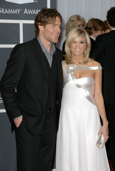 Carrie Underwood and fiance Mike Fisher