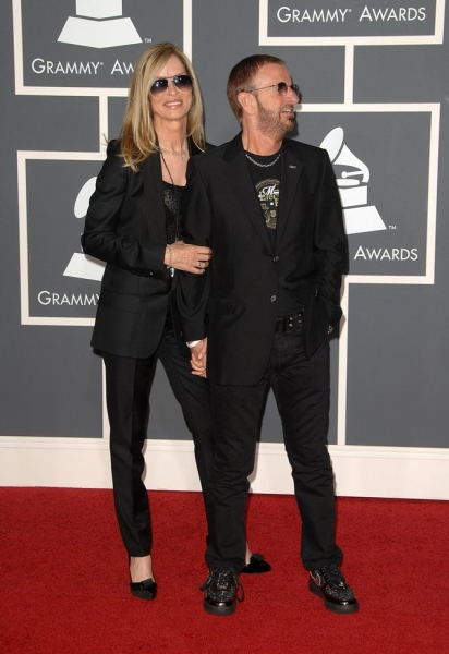 Barbara Bach and Ringo Starr