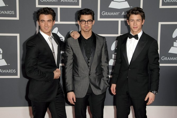 Jonas Brothers at Grammy Awards Red Carpet