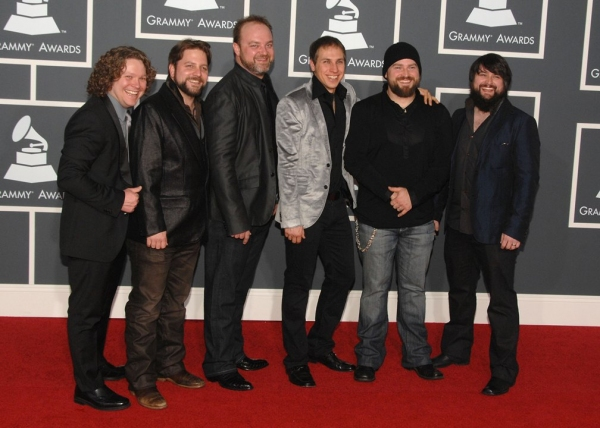 Zac Brown Band at Grammy Awards Red Carpet