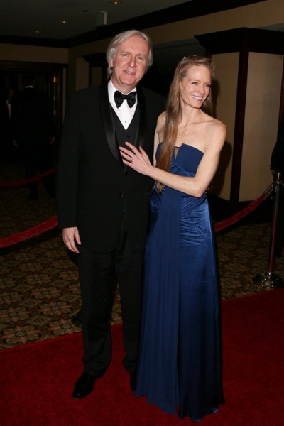 James Cameron and Suzy Amos