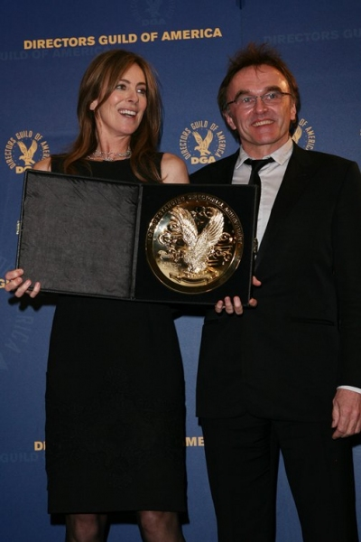 Katheryn Bigelow and Danny Boyle at 62nd Annual Directors Guild of America Awards