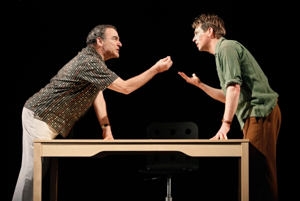 Mandy Patinkin and Stephen Barker Turner at Yale Rep Presents COMPULSION