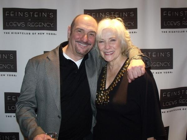 Songwriter Eric Kornfeld and Betty Buckley