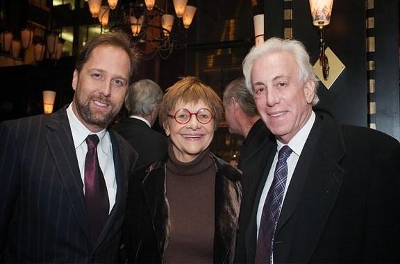 Steve Traxler, Estelle Parsons and Arny Granat