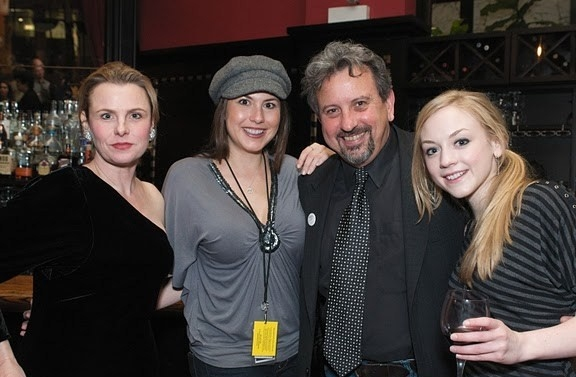 Angelica Torn, DeLanna Studi, Jeff Still and Emily Kinney