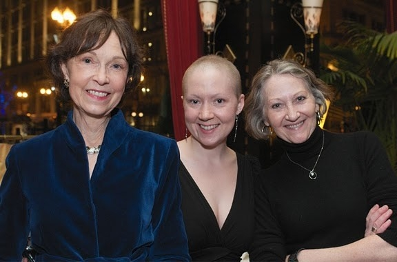 Deanna Dunagan, Cambra Overand, and Barbara Kingsley