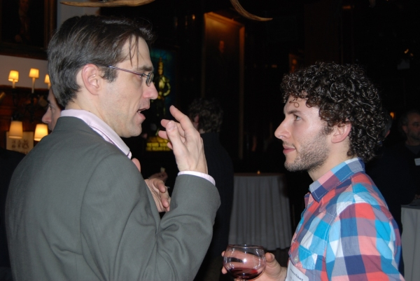 Jeff Janisheski, NTI Artistic Director & Jeremy Pickard, NTI Fall 2003
