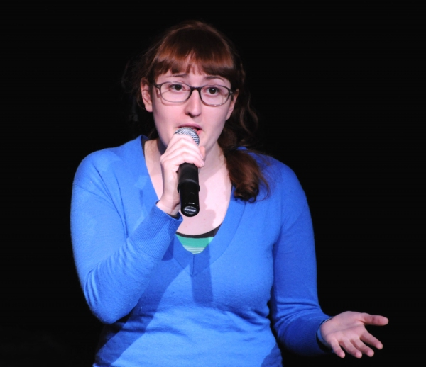 Emily Heller at BEYOND FUNDERDOME COMEDY BLOWOUT At 3LD