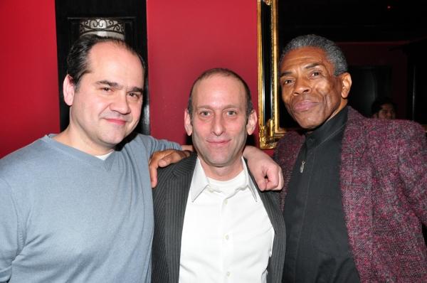 Alfred Preisser, Mark Plesent, Andre De Shields