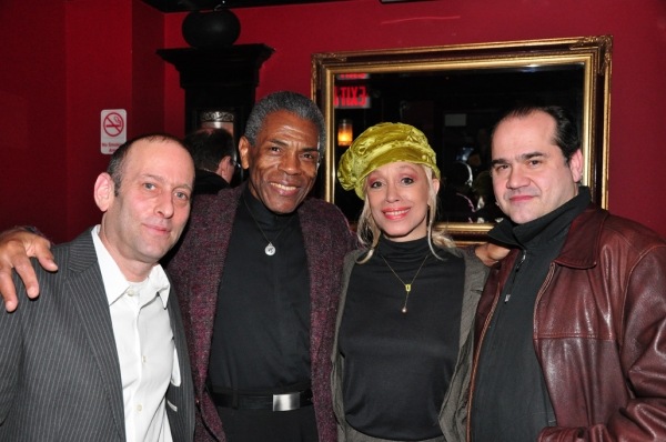 Mark Plesent, Andre De Shields, Mercedes Ellington, Alfred Preisser