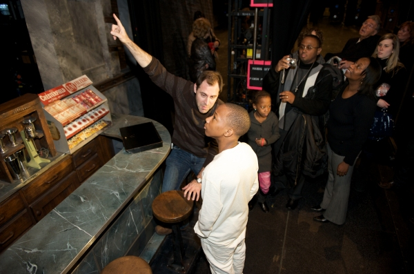 Photo Flash: WEST SIDE STORY Cast & Crew 'Make A Wish' Come True