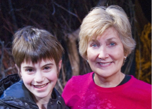 Sami Gayle and Jan Buttram at Sami Gayle Visits PHANTOM KILLER at Abingdon
