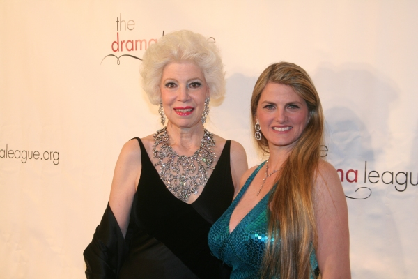 Drama League President Jano Herbosch and Bonnie Comley