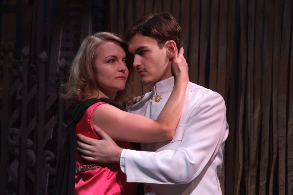 Kristen Vaughan and Montgomery Sutton