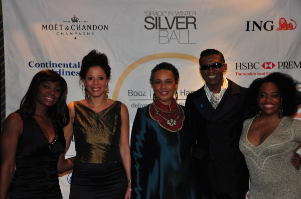Saycon Sengbloh, Michelle Paterson, Myrna Colley Lee, B. Michael and Ronda Ross