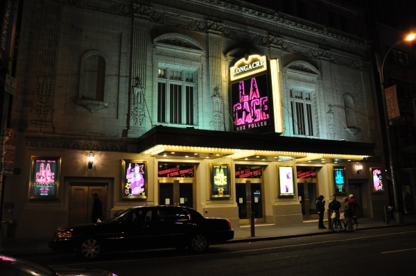 Broadway 39 s nick adams la cage at the longacre for 1501 broadway 12th floor new york ny 10036