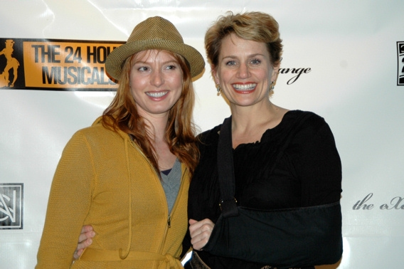 Alicia Witt and Cady Huffman