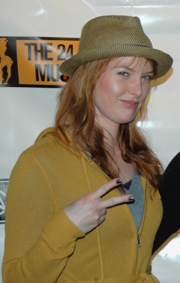 Alicia Witt at The 2010 24 Hour Musicals