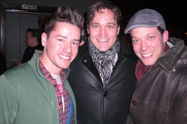 John Tartaglia, Michael Shawn Lewis & Adam Fleming Photo