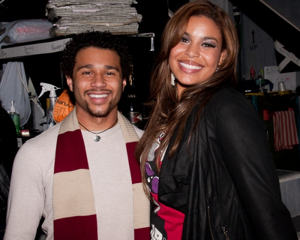 Photo Coverage: Jordin Sparks Visits Corbin Bleu IN THE HEIGHTS