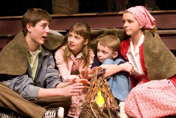 Sam Bates-Norum, Emily Frett, Darby Elliott, and Jones Pfeifer